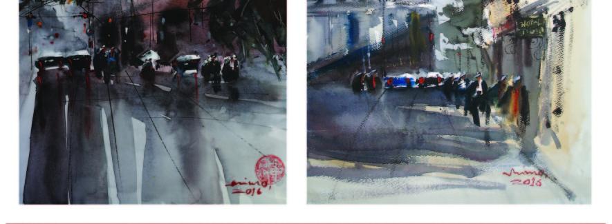 Mimo Mondali Work's Personal Exhibition (1)